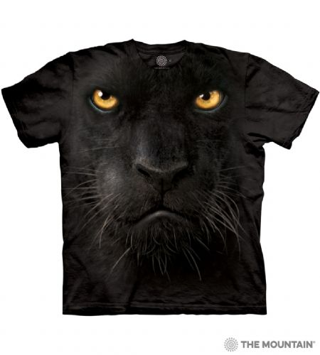 Black Panther Face T-shirt | The Mountain®